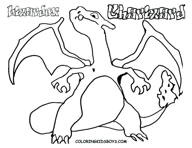 736x568 Free Printable Charizard Coloring Pages Mega Evolved Drawing G