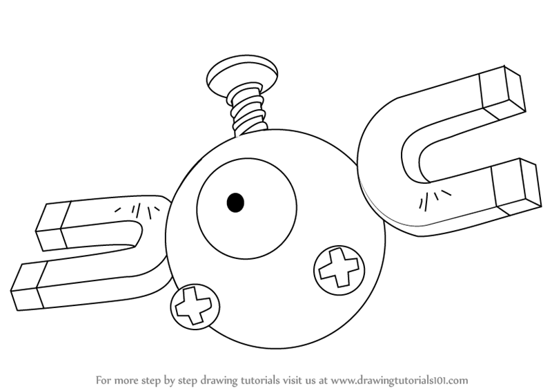 800x566 learn how to draw magnemite from pokemon pokemon step by step