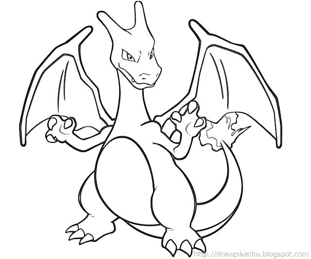 640x533 Charizard Coloring Pages Awesome Drawing Of Coloring Page