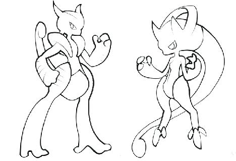 468x319 Mewtwo Coloring Pages Photo Pokemon Mega Mewtwo Coloring Pages
