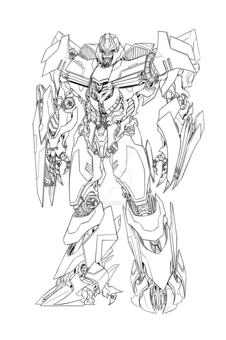 Megatron Drawing