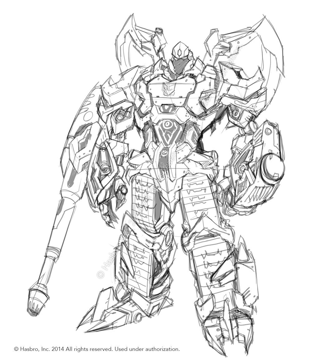 1000x1166 Emiliano Santalucia Covenant Of Primus Megatron Design