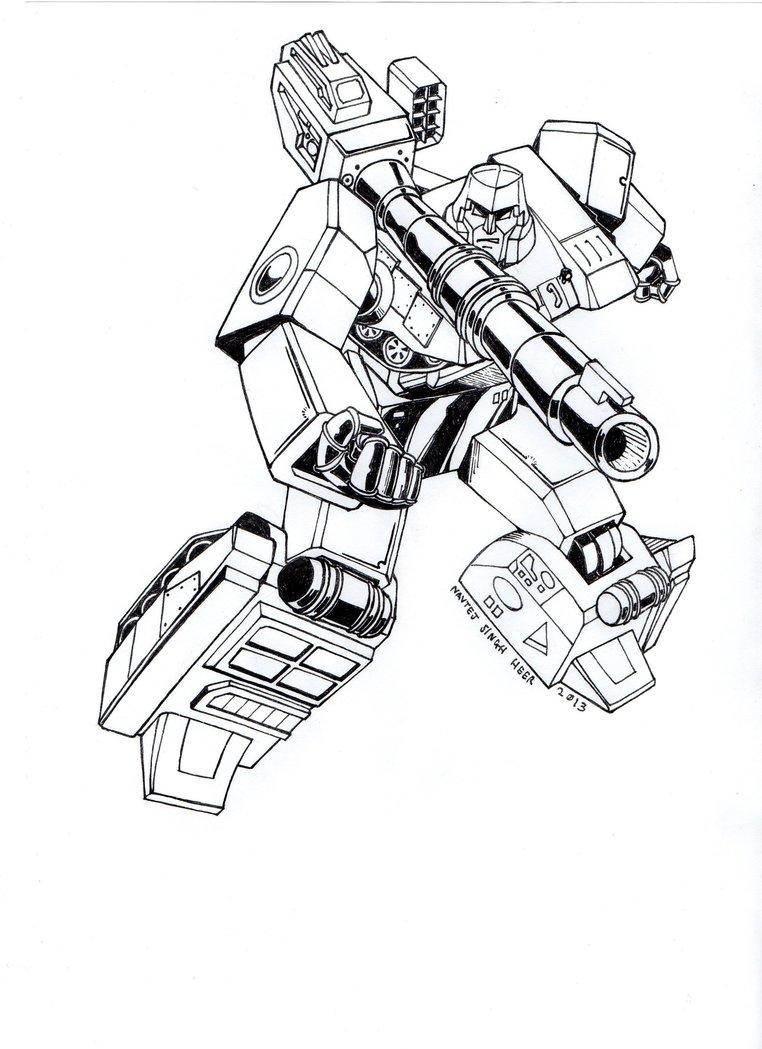 762x1049 G2 Megatron By Hellbat