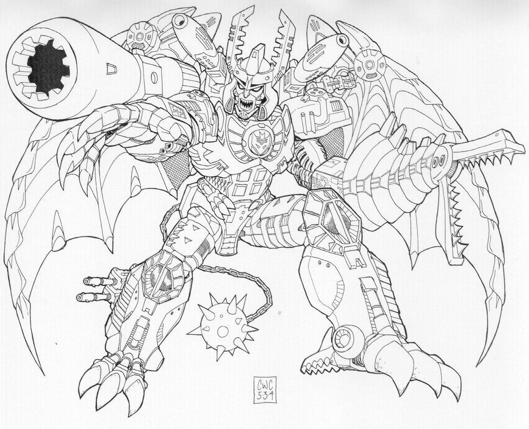 1032x836 Mega Megatron By Caliber316