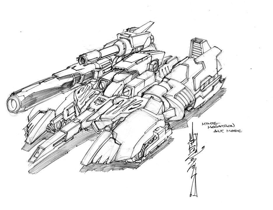 936x720 Megatron Alt. Mode Alex Milne Transformer Artwork