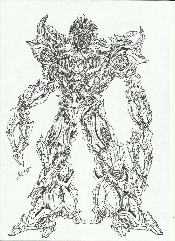 1024x1408 Megatron Movie By Theoldkup96