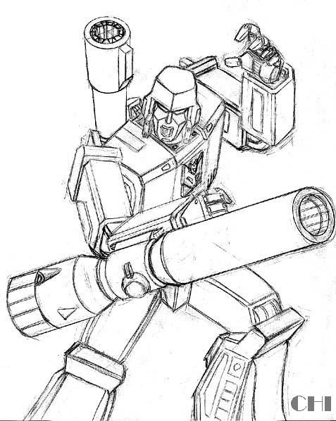 477x598 Megatron Pencils By Cwmodels