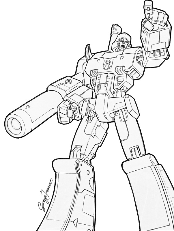 603x800 Megatron By Georgetremarco