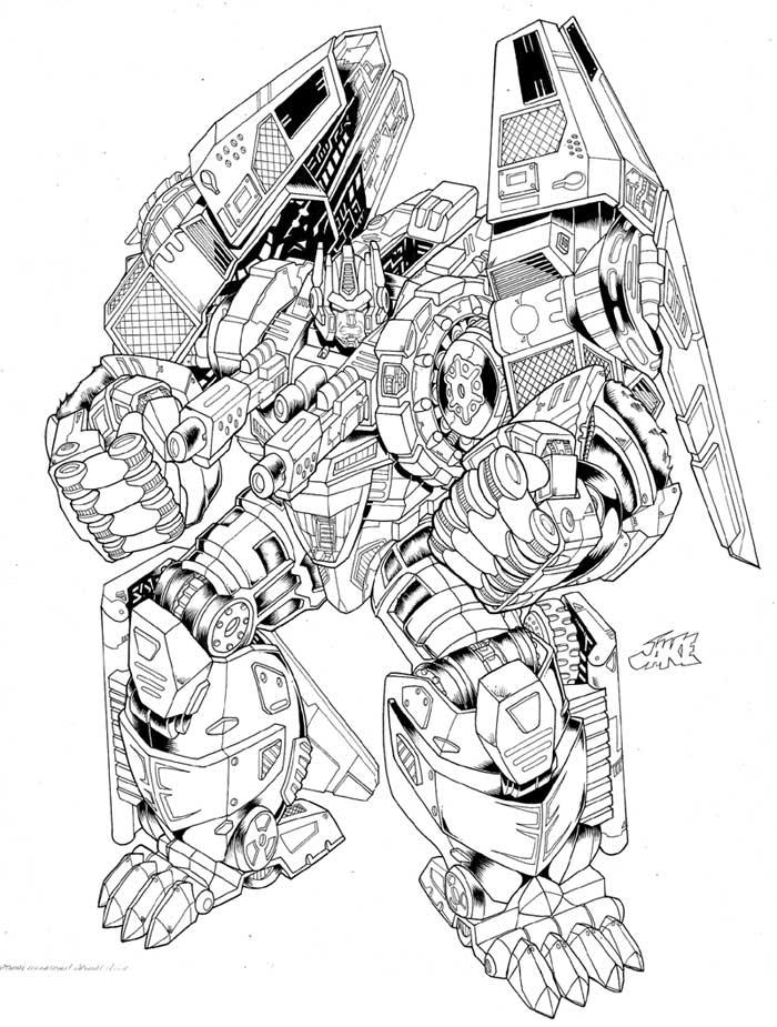 700x925 Optimal Megatron By Inker Guy