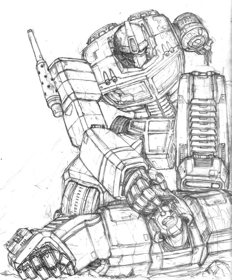 750x907 Optimus Prime Vs Megatron By Scorn Maniac