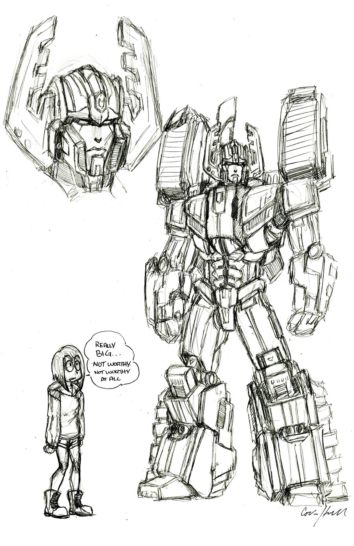 900x1389 Armada Megatron Revamp Sketch By Rinpin
