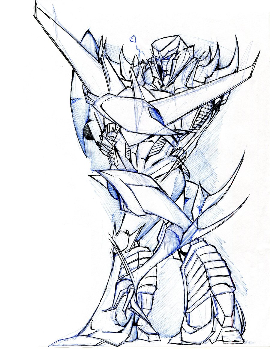 900x1165 Starscream And Megatron Tfp By Winddragon24