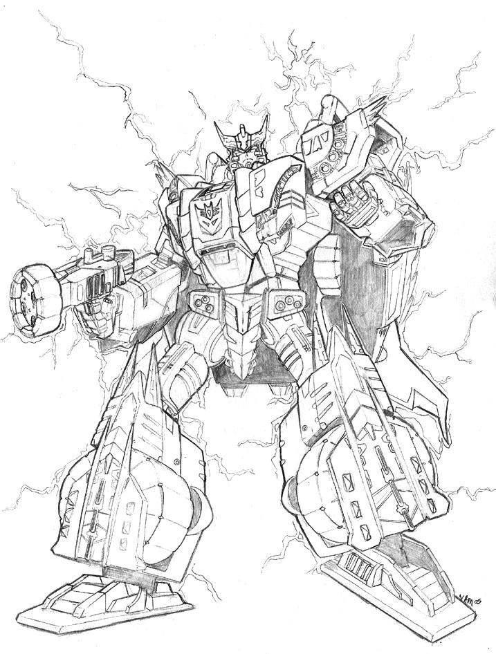 717x946 Master Megatron Pencils By Beamer