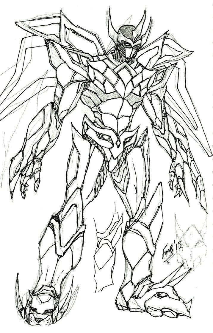 716x1117 Mmpr Megazord Concept By Kyomusha