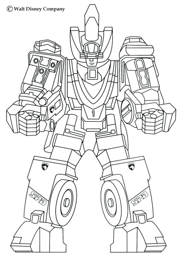 592x850 Megazord Coloring Pages Fancy Coloring Pages Robot In Print