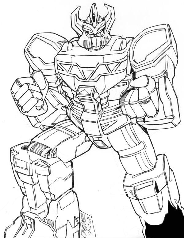 600x775 Megazord By Optimus8404