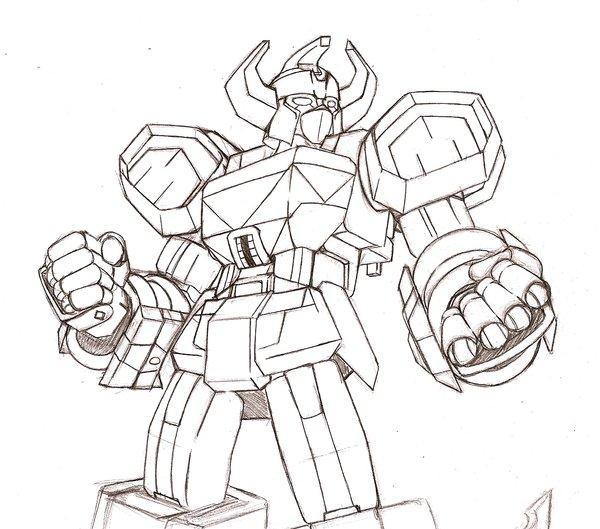 600x529 Megazord By Trevor Hobostein