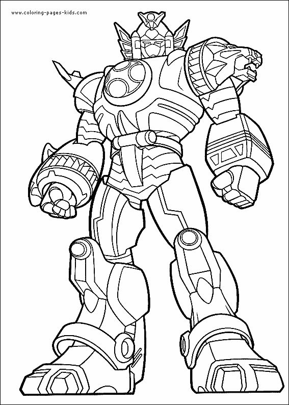 Megazord Drawing at GetDrawings