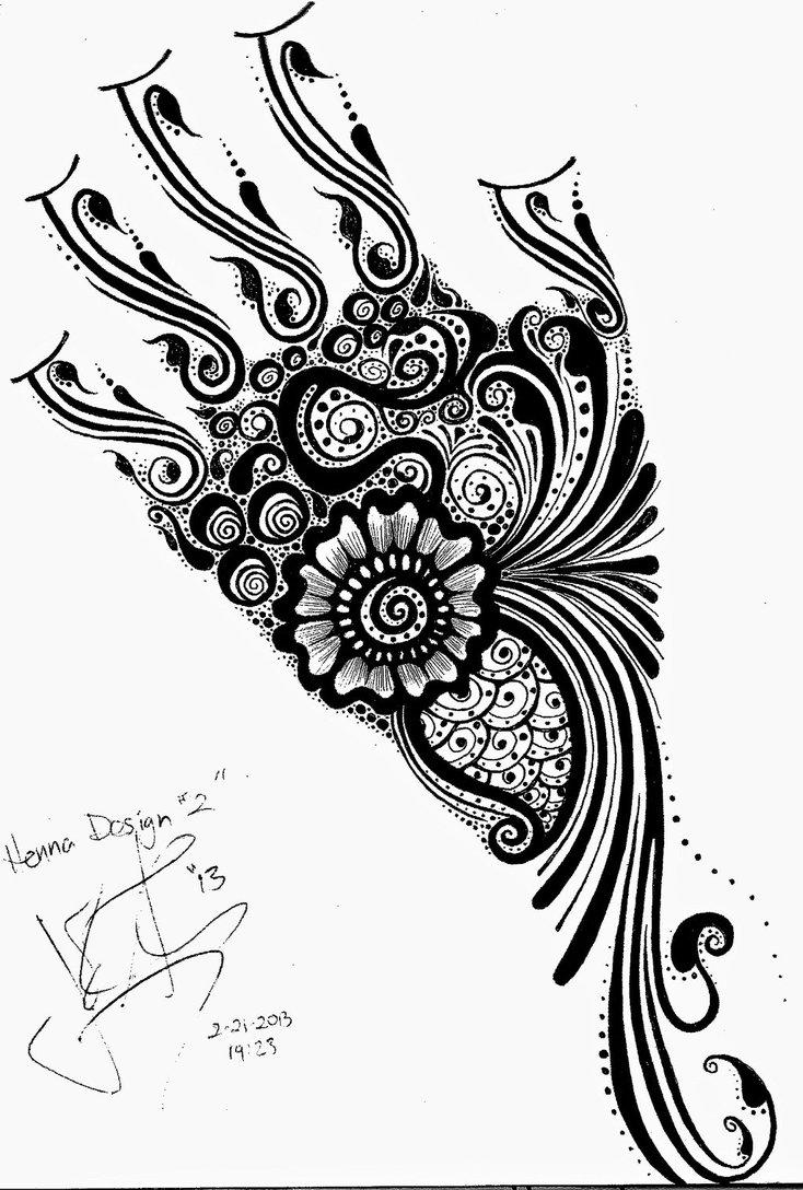 734x1088 Full Hand Henna Design By Jjshaver
