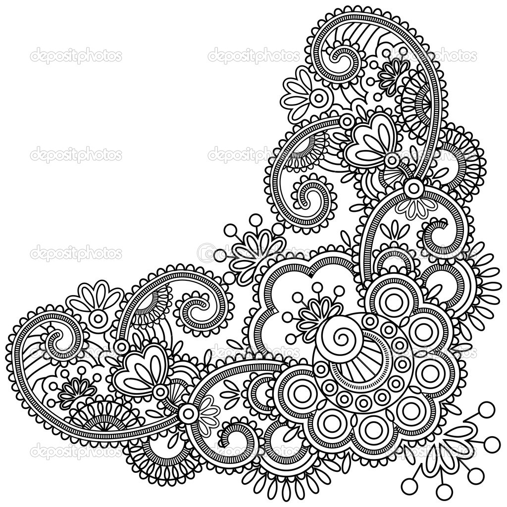 Spur Art Design Your Line : Mehndi drawing at getdrawings free for personal use