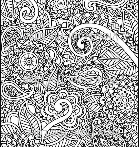 570x600 Mehndi Patterns Colouring Sheets Mehndi Coloring Page Henna Adult