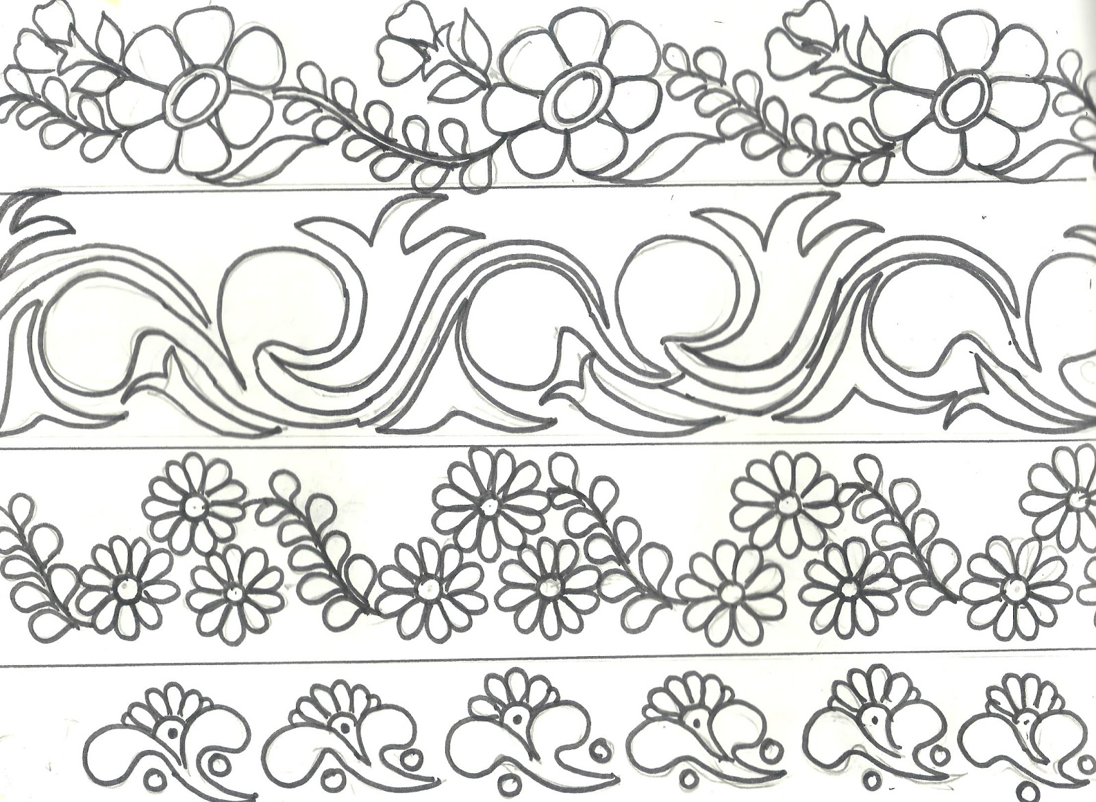 Mehndi Drawing at GetDrawings.com | Free for personal use Mehndi ...