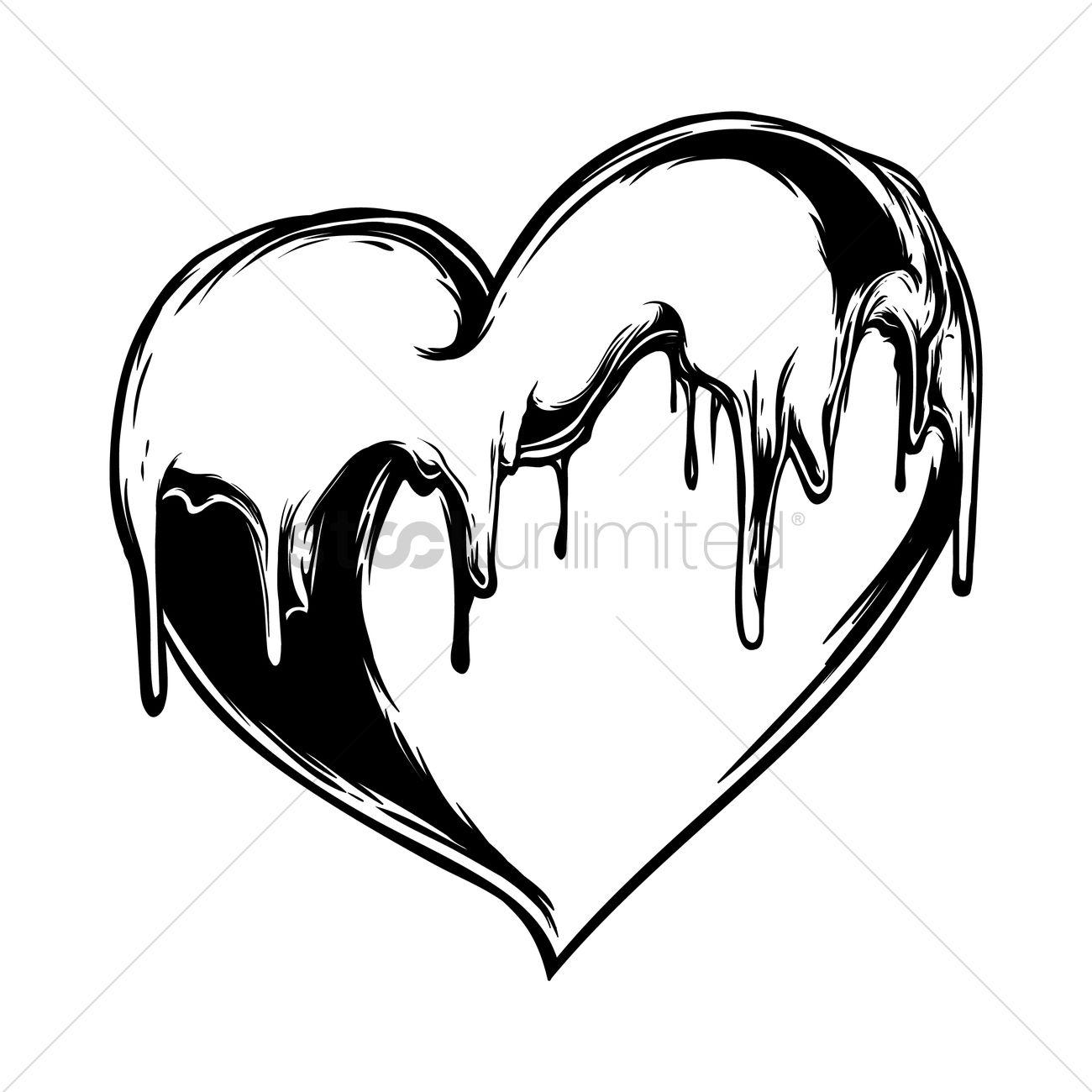 1300x1300 Free Melting Heart Stock Vectors Stockunlimited