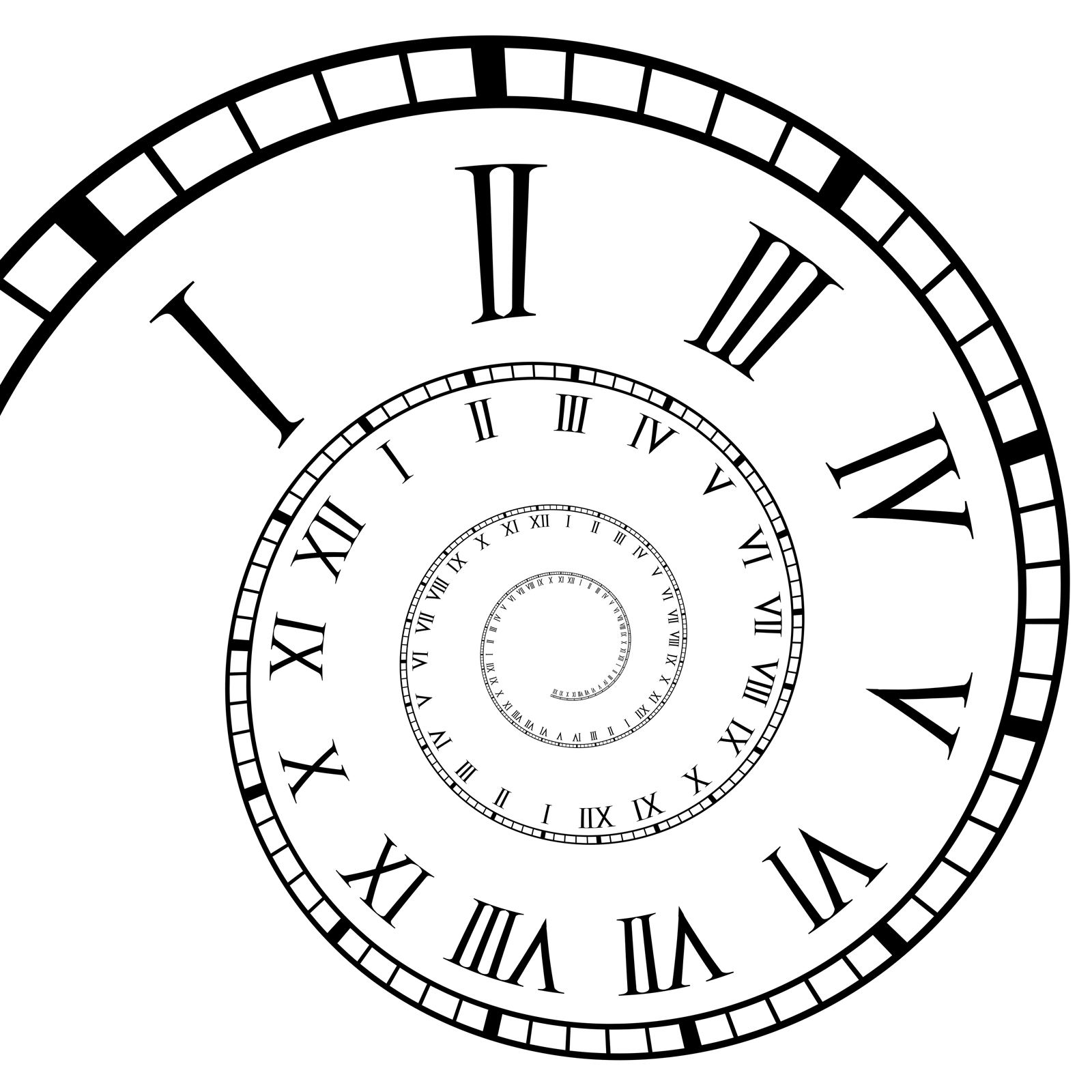 1600x1600 Drawing Time Clock Cool Clock Drawings