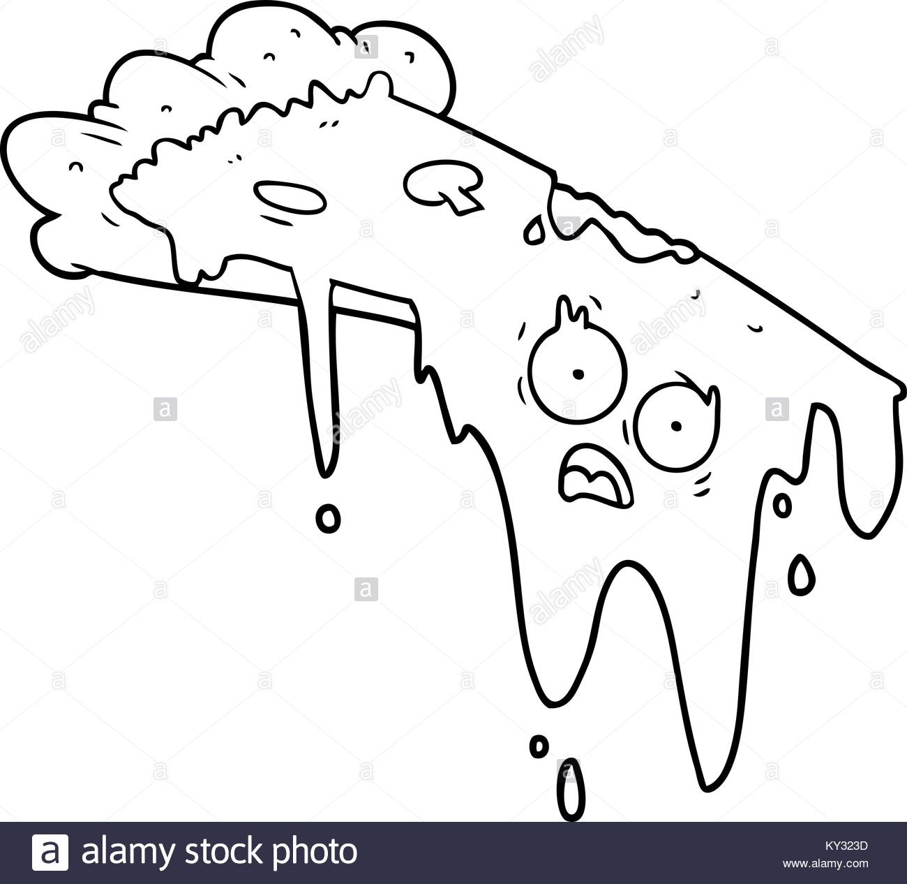 1300x1266 Hand Drawn Illustration Drawing Melting Stock Photos Amp Hand Drawn