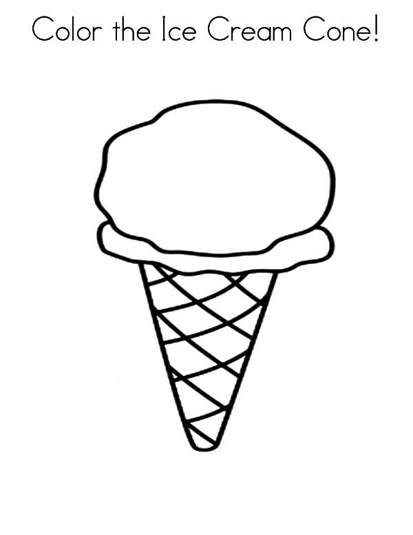 600x776 Three Cone Of Ice Cream Dream Coloring Pages Bulk Color