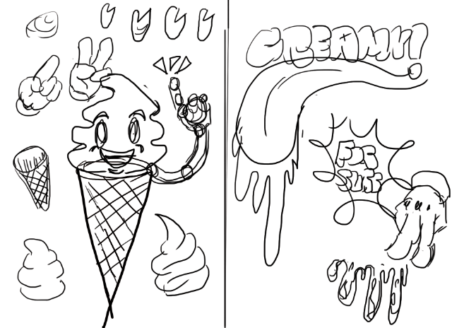 657x464 Create A Creamy Ice Cream Poster On Illustrator
