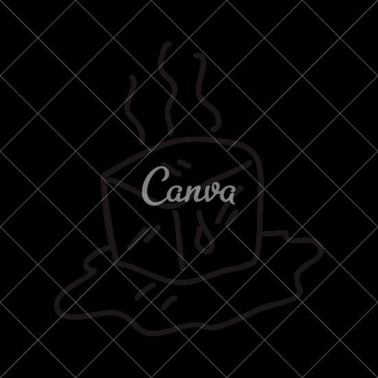 550x550 Ice Cube Melting