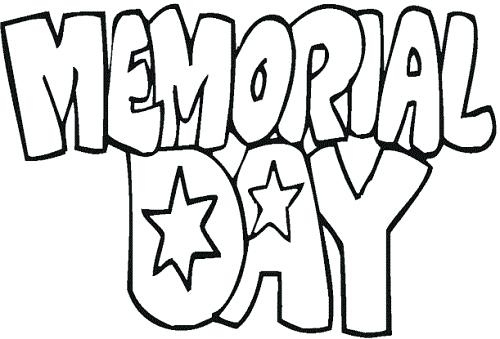 500x339 Here Are Memorial Day Coloring Pages Pictures Memorial Day