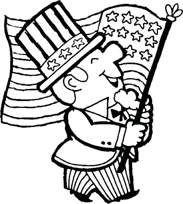600x671 Memorial Day Coloring Pages For Kids Memorial Day Coloring Pages