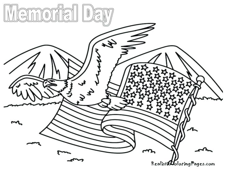 728x546 Memorial Day Coloring Pages Memorial Day Cartoon Of Memorial Day