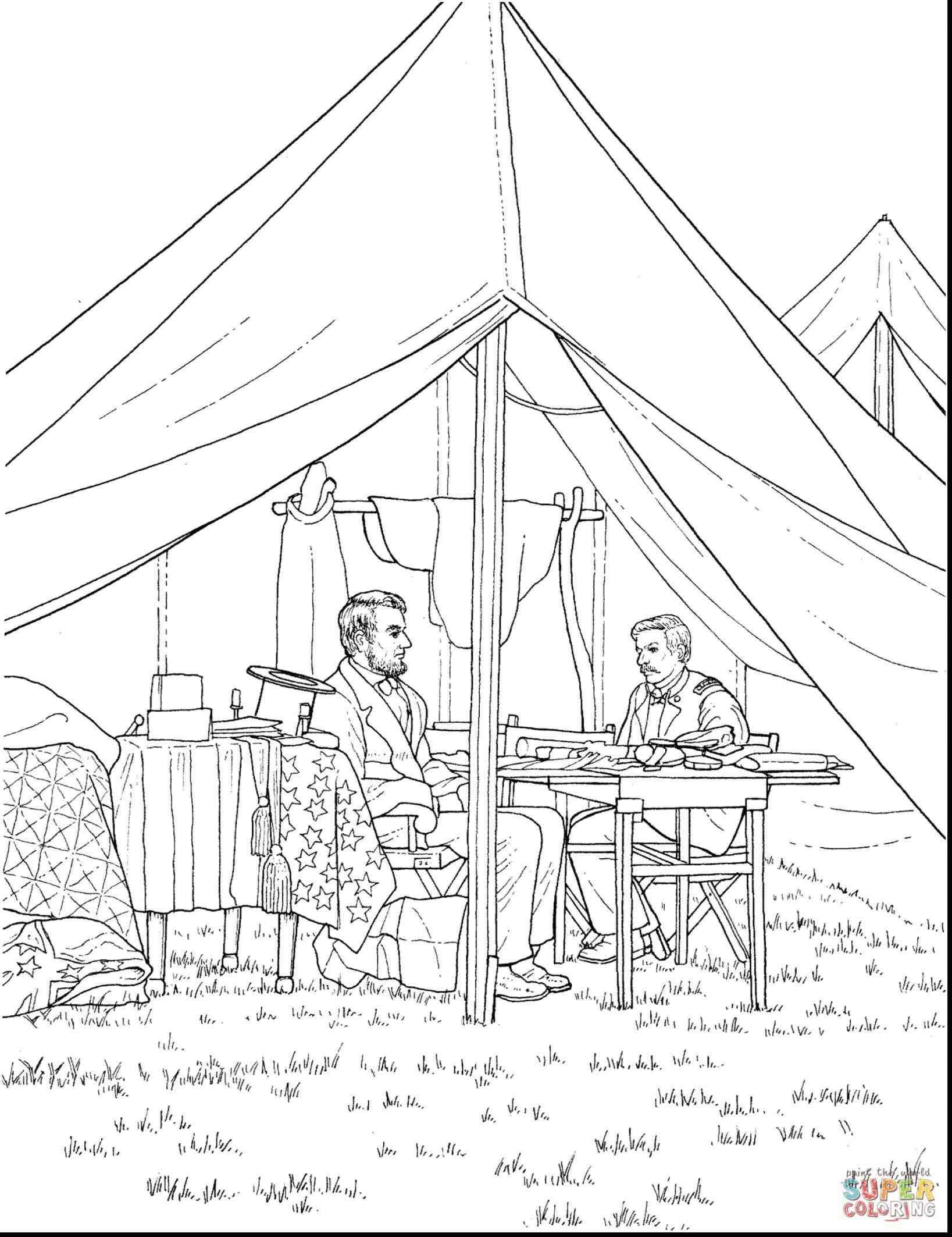 1637x2126 Abraham Lincoln Memorial Drawing