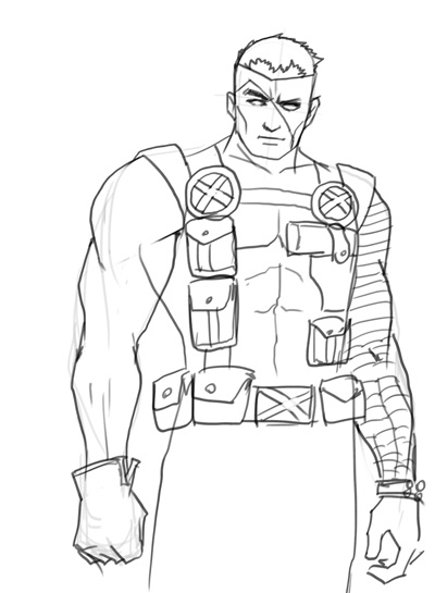 400x545 How To Draw Cable