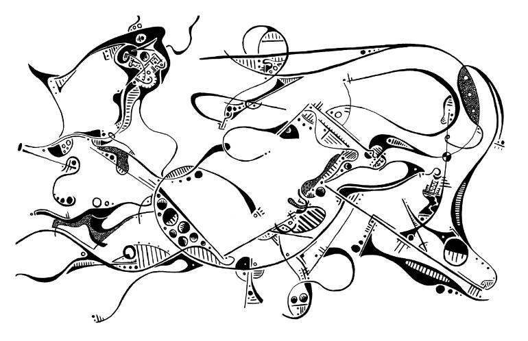 770x498 Saatchi Art Three Wise Men Drawing By Ari Pescovitz