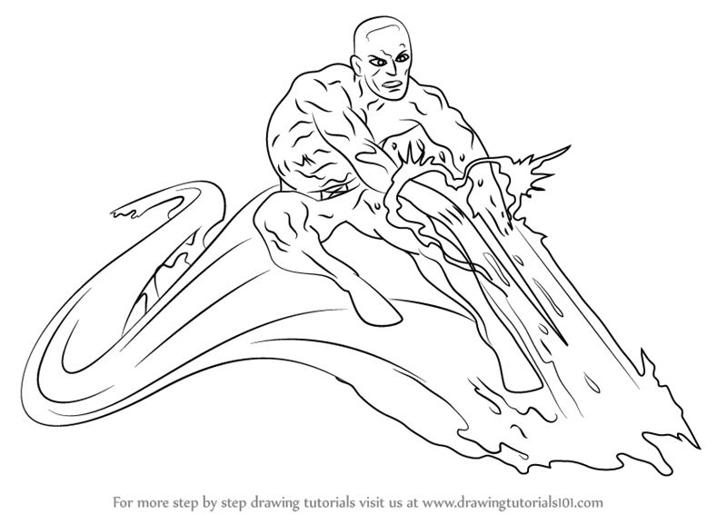 800x566 Step By Step How To Draw Iceman From X Men