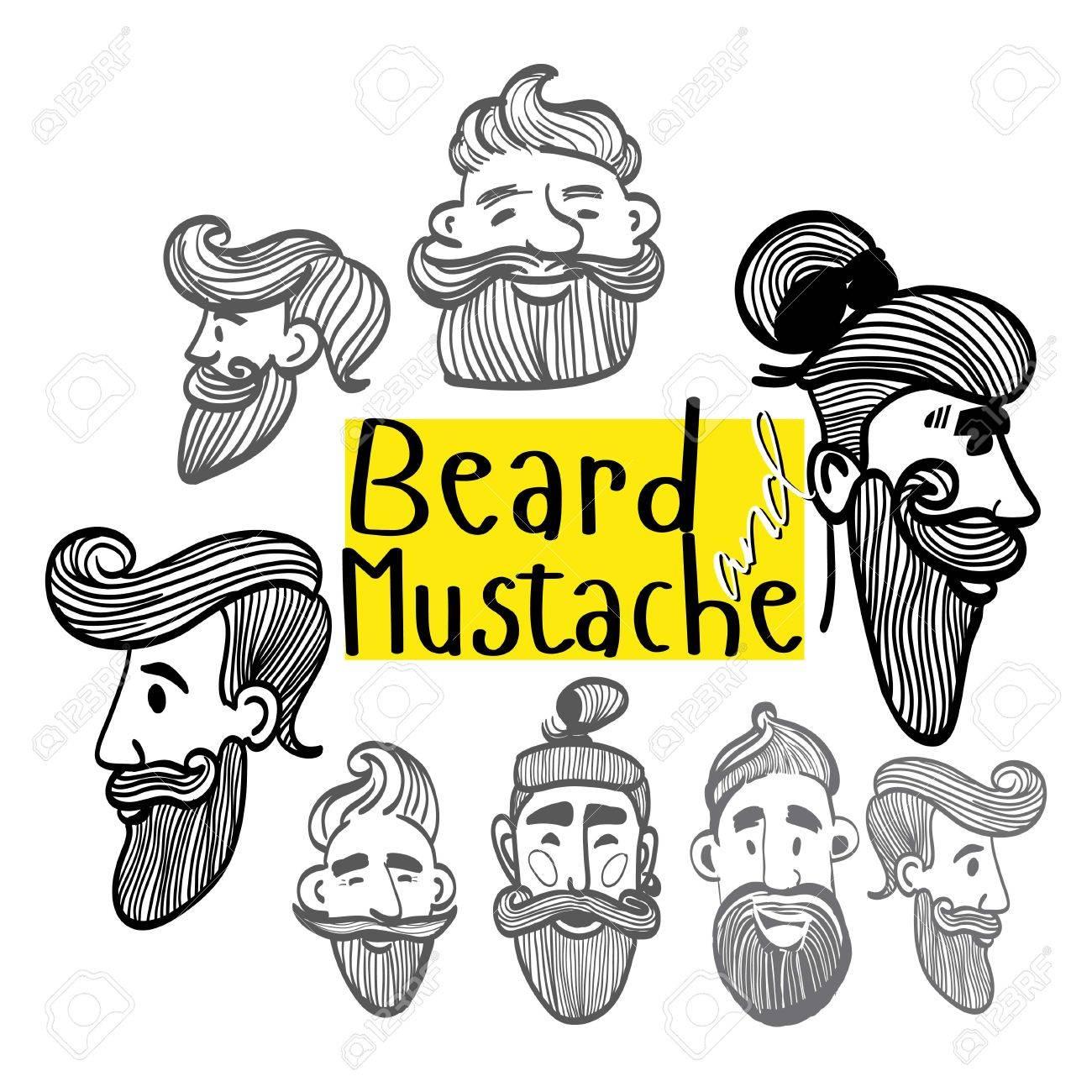 1300x1300 Freehand Drawing Men , Drawing A Mustache , Drawing Pricheki
