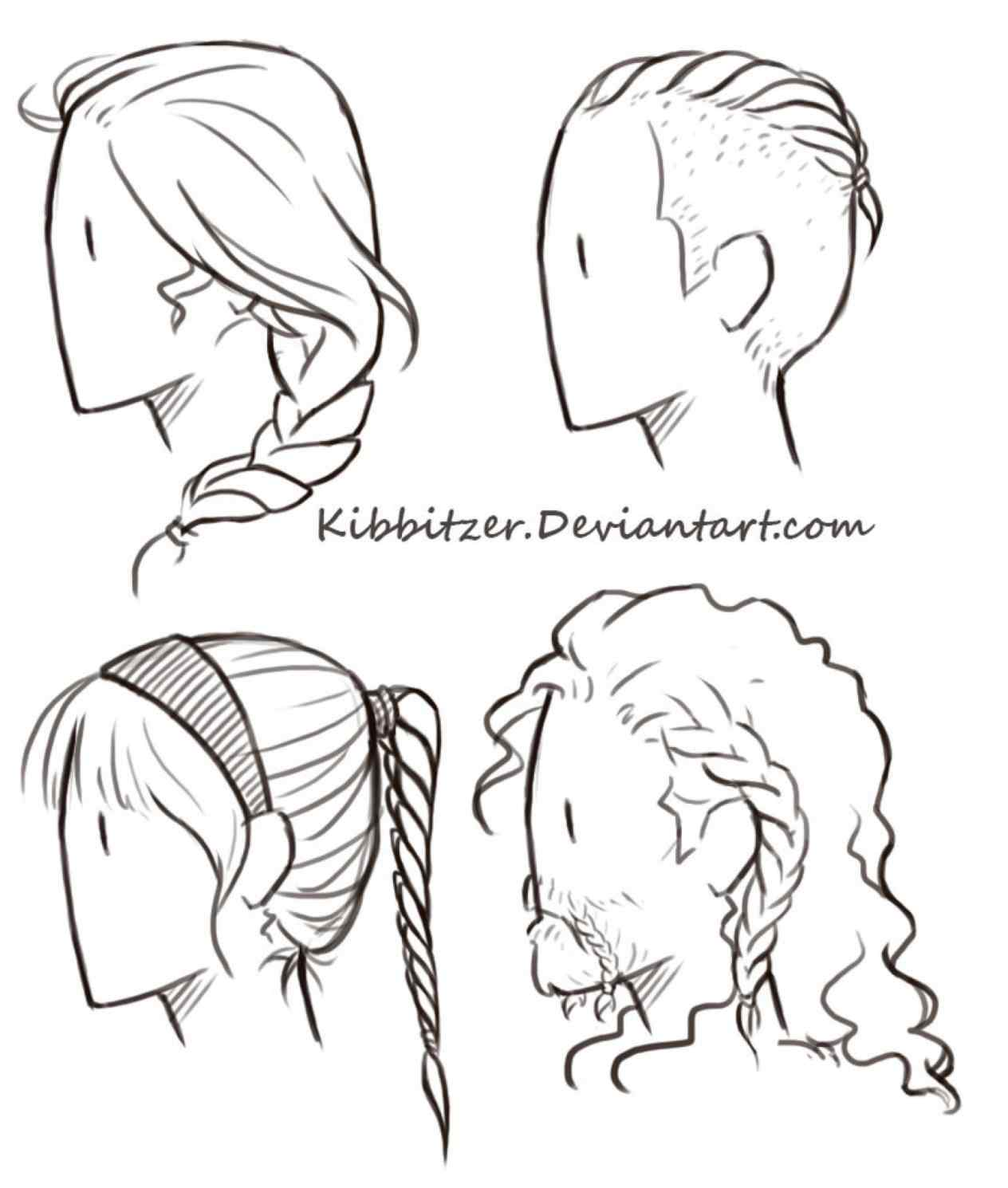 1264x1490 Drawn Male Curly Hairstyles Drawing Boy Hair Pencil And In Color
