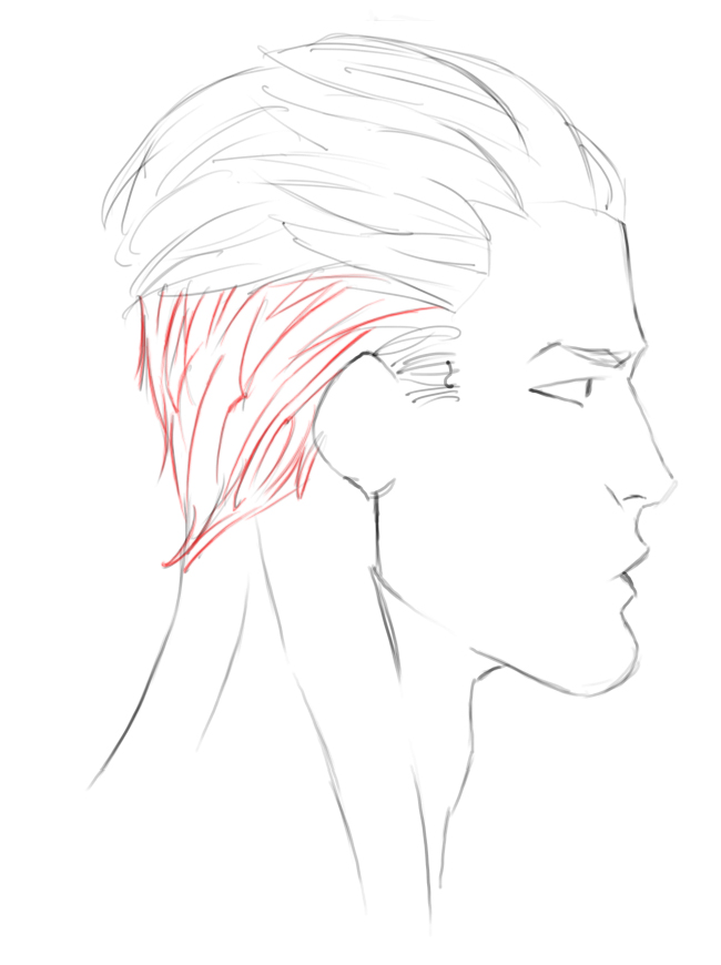 650x870 How To Draw Heads Male Profiles