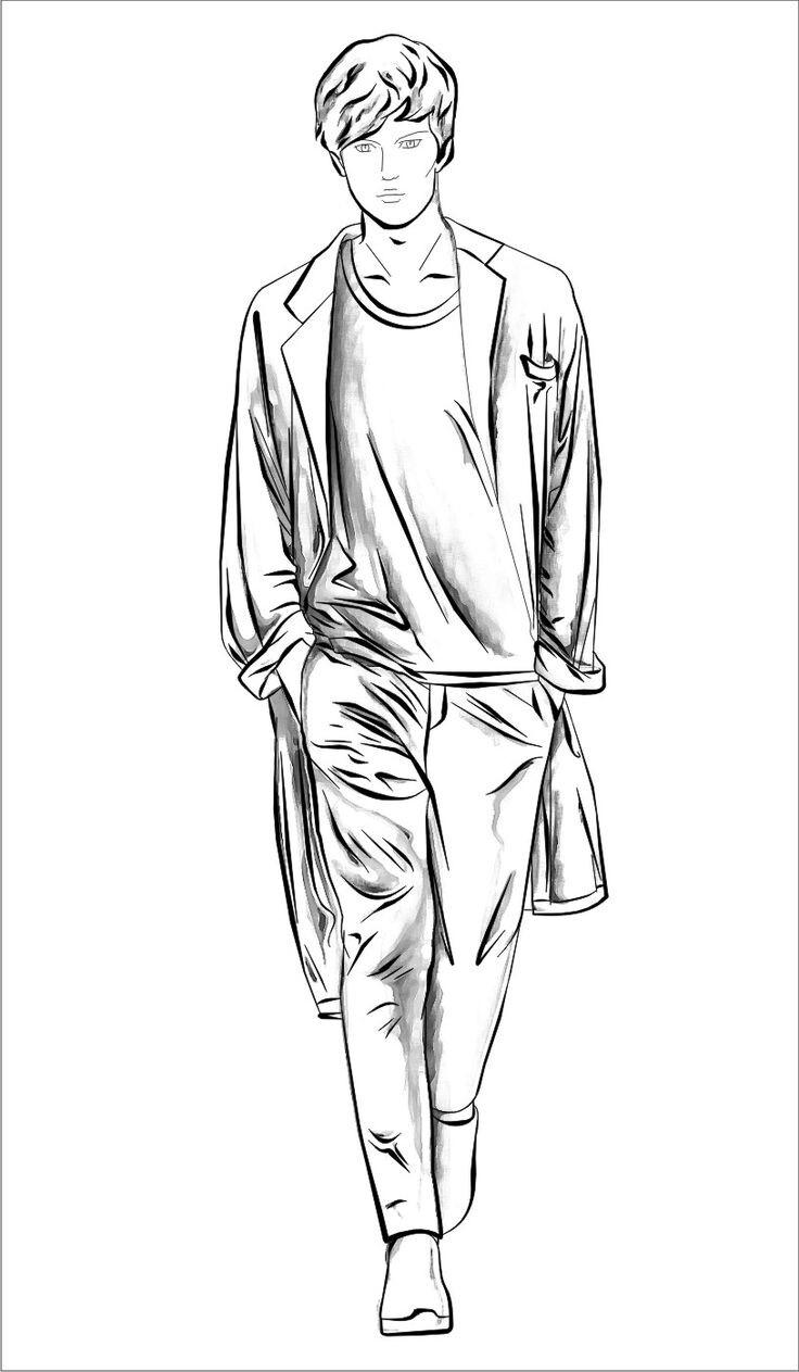 736x1263 Pin By Harshita On Mens Illustration Fashion