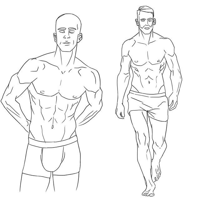 640x640 Draw Body Drawing Sketch On Instagram