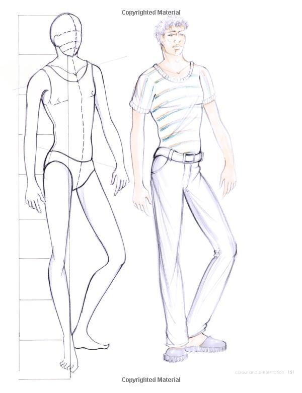 600x781 Fashion Design Sketch Model Male 2015 2016 Fashion Trends 2015