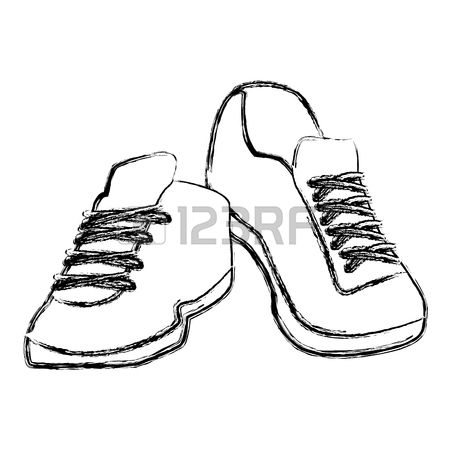 Mens Shoes Drawing