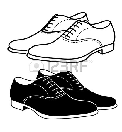 416x450 Men S Classic Shoes Royalty Free Cliparts, Vectors, And Stock