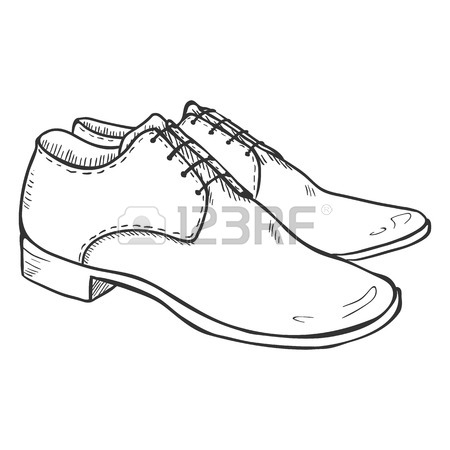 how to draw on leather shoes
