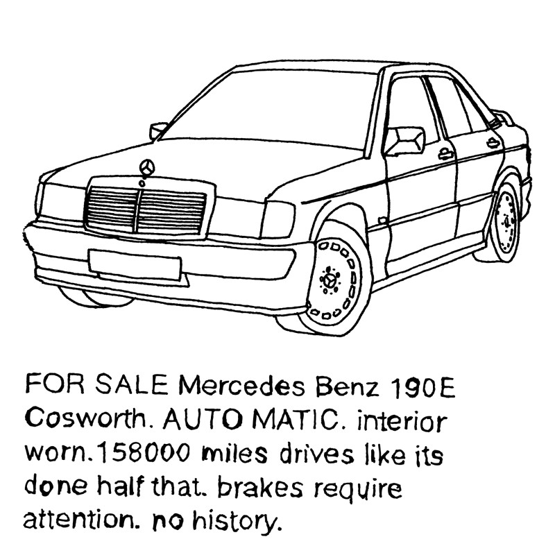 800x800 Mercedes 190e Cosworth Canvas Prints By Revilocj Redbubble