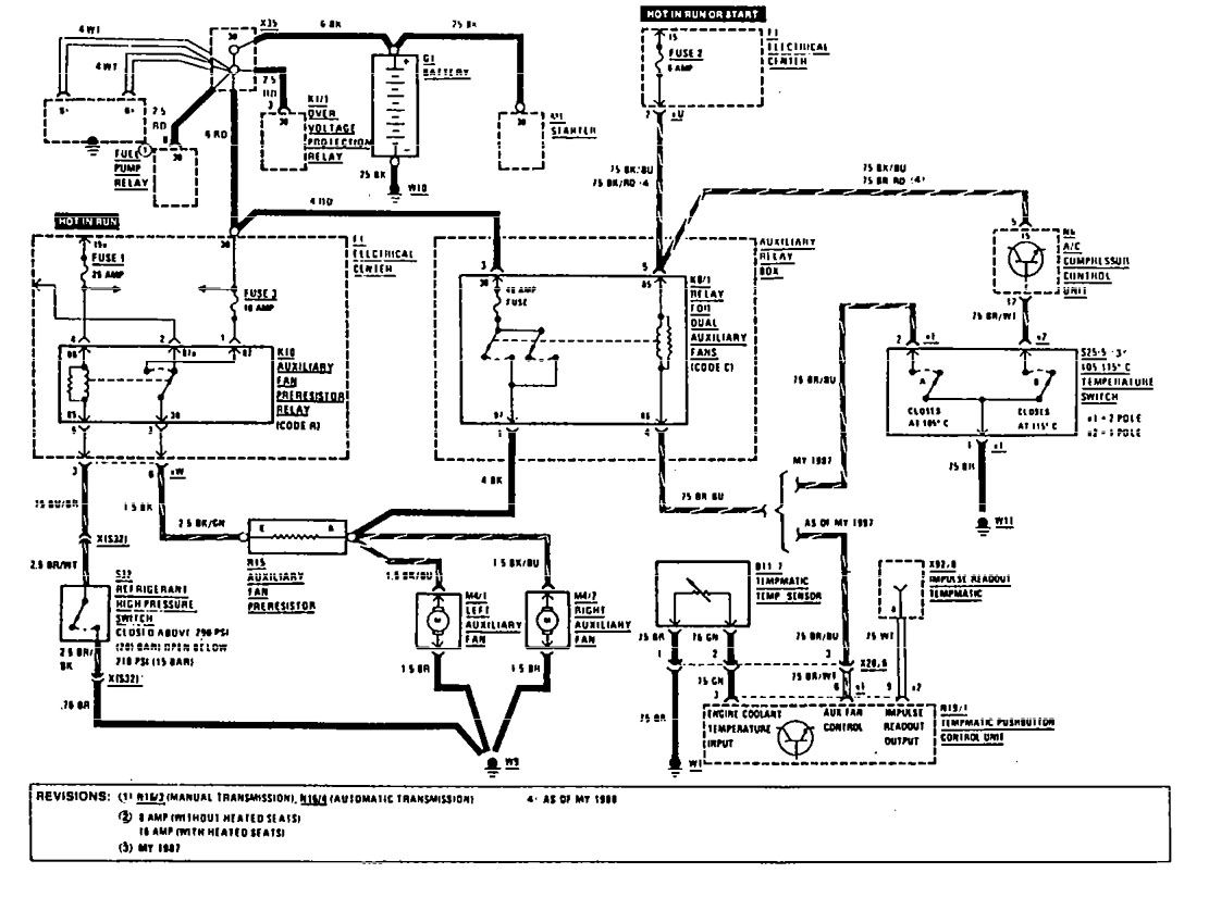 Mercedes Benz Drawing At Free For Personal Use Wiring Diagram 190e 1111x826 1990 Diagrams Cooling Fans